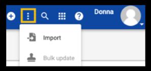 Admin ellipsis menu while viewing Domain or Subdomain users.