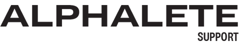Alphalete Support Logo