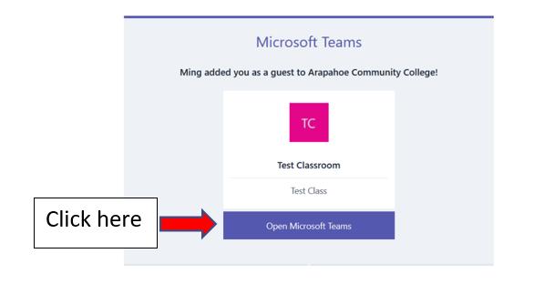 MS Teams email 2