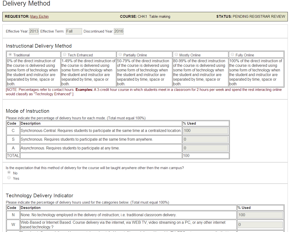 How to make a curriculum change request fsu bb support center after you have saved the delivery method form the liberal studies forms you need based on designations you have chosen in the course information form spiritdancerdesigns Image collections