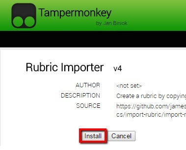 Installing & Using the Import Rubric Tool - FSU Canvas