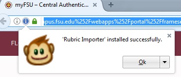 Installing & Using the Import Rubric Tool - FSU Canvas