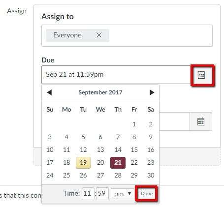 How to adjust due dates and availability dates in Canvas