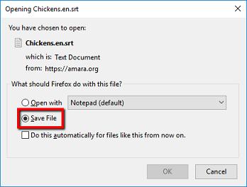 Instructors: How do I create a subtitle file using Amara