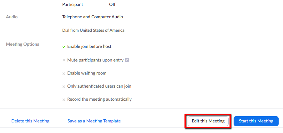 Location of Edit this Meeting button.