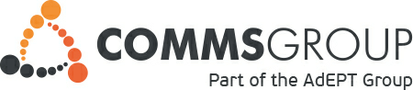 Comms Group UK Support Logo