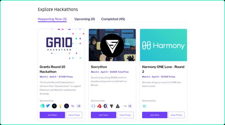 Explore open Hackathons