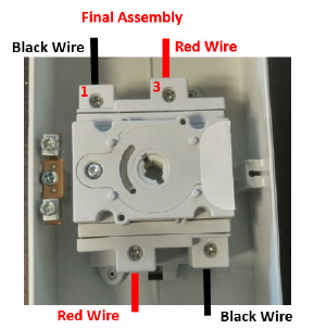Figure 3 - final assembly illustration