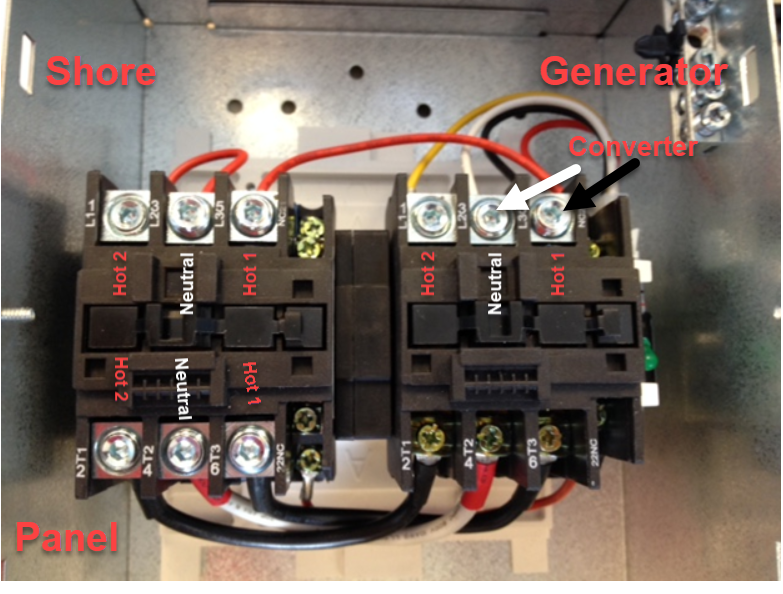 Transfer Switch  Wiring Diagrams  50 Amp  - Go Power