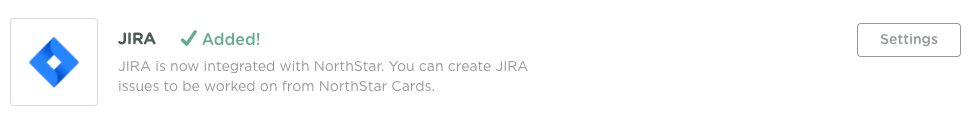 jira integration - jira linked