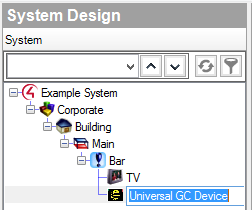 Add Universal GC Device to project