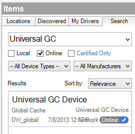 """Search for """"Universal GC"""""""