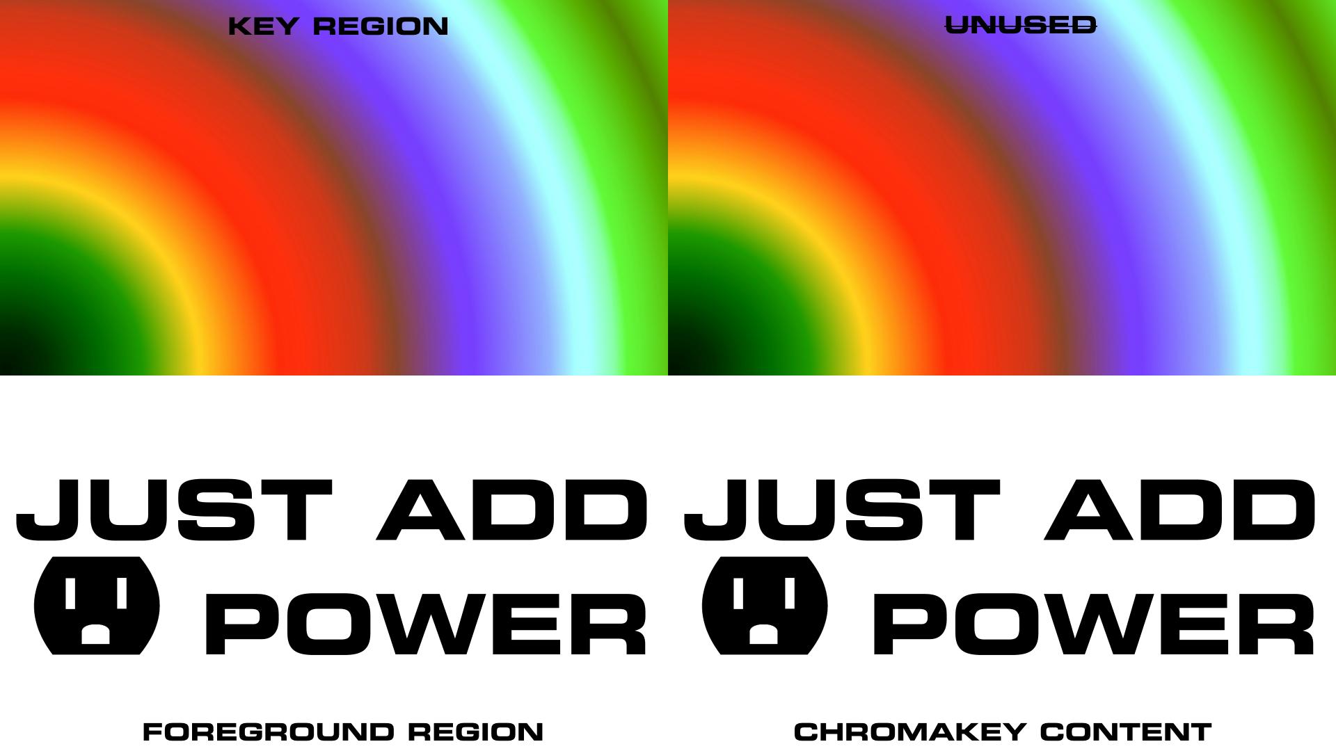 Quad logo white chroma
