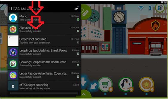 Notification and Quick Settings Curtains - leapfrog