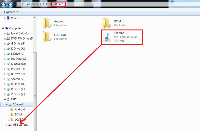How do I transfer files between my LeapFrog Epic tablet and a micro SD card?  - leapfrog