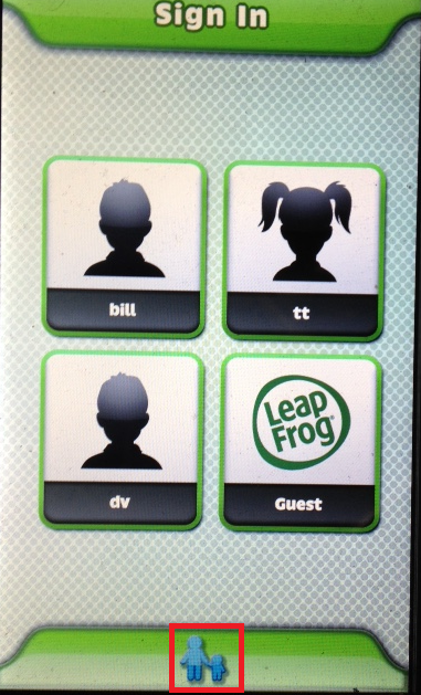 Setting up wifi after initial setup - leapfrog