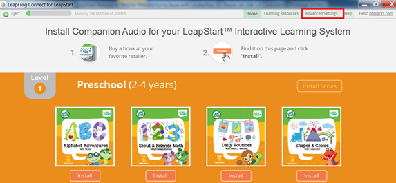 download leapfrog connect for epic