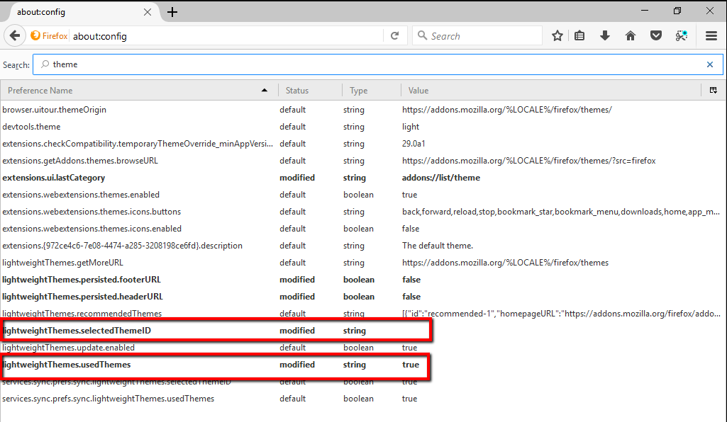 24: Firefox: How can I fix Dark Theme / Firefox 56 when using