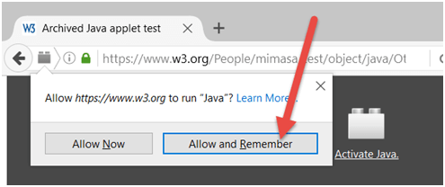 """22: Firefox: How do I set """"Allow Now"""", """"Allow and Remember"""