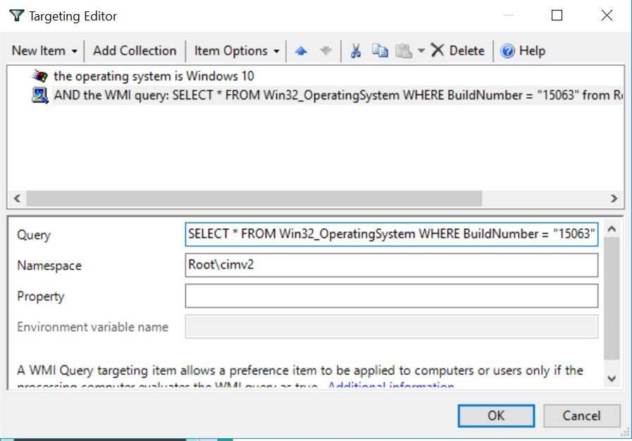 wmi windows build number