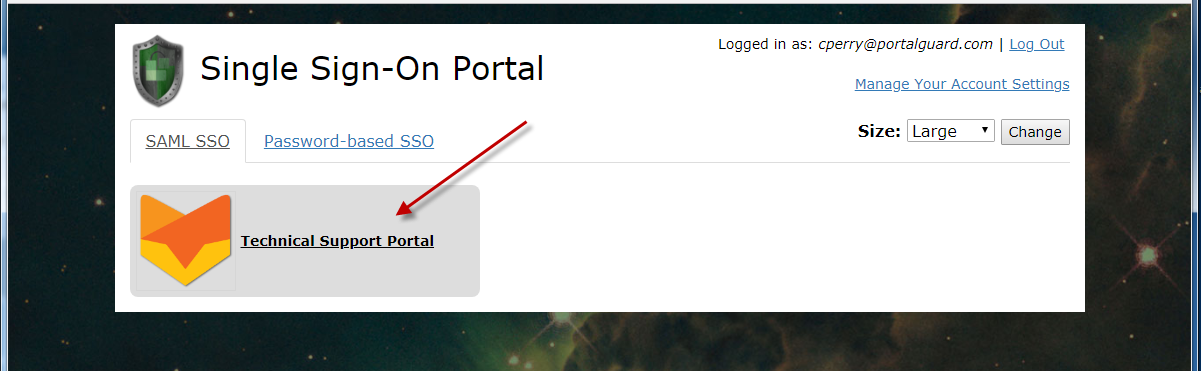 Technical Support Portal