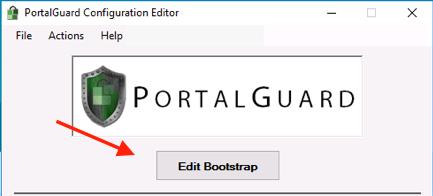 PortalGuard Edit Bootstrap