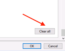 AD Clear Button