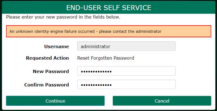 PortalGuard Unknown Identity Engine Error