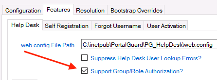 Group Auth Checkbox