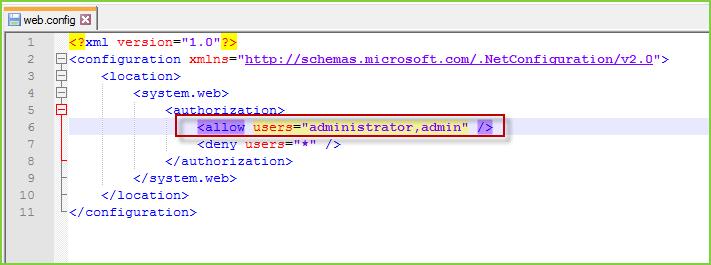 Admin Dashboard Configuration