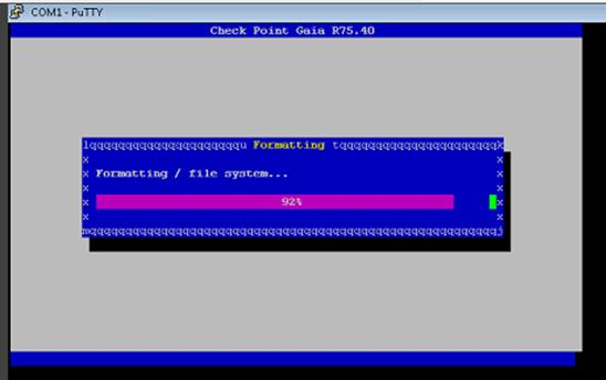KB00052 How to Install Gaia on an IP Appliance - QOS CCSP Support