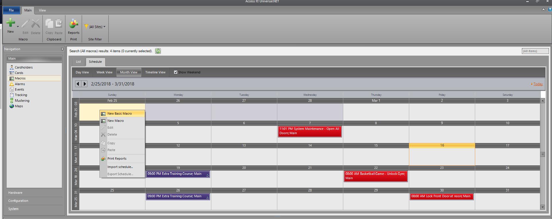 Macro Scheduler - RS2 Technologies, LLC
