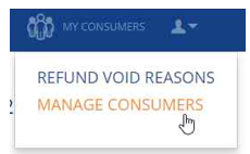 Manage your Consumers - Segpay Help Desk