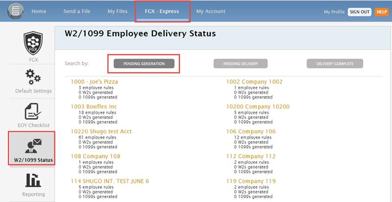 EOY W2/1099 Status