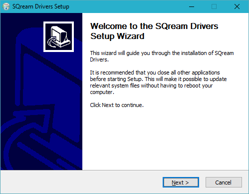 Installing the SQream ODBC Driver (Windows) - SQream DB Customer Support
