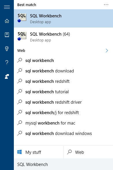 Configuring the SQL Workbench Client - SQream DB Customer