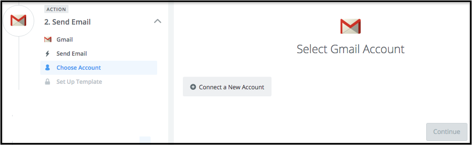 how to connect gmail to main account
