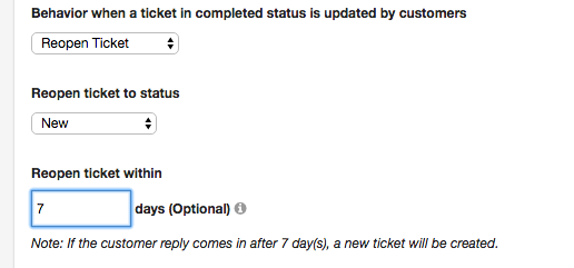 Reopen closed tickets on customer reply (without using Smart