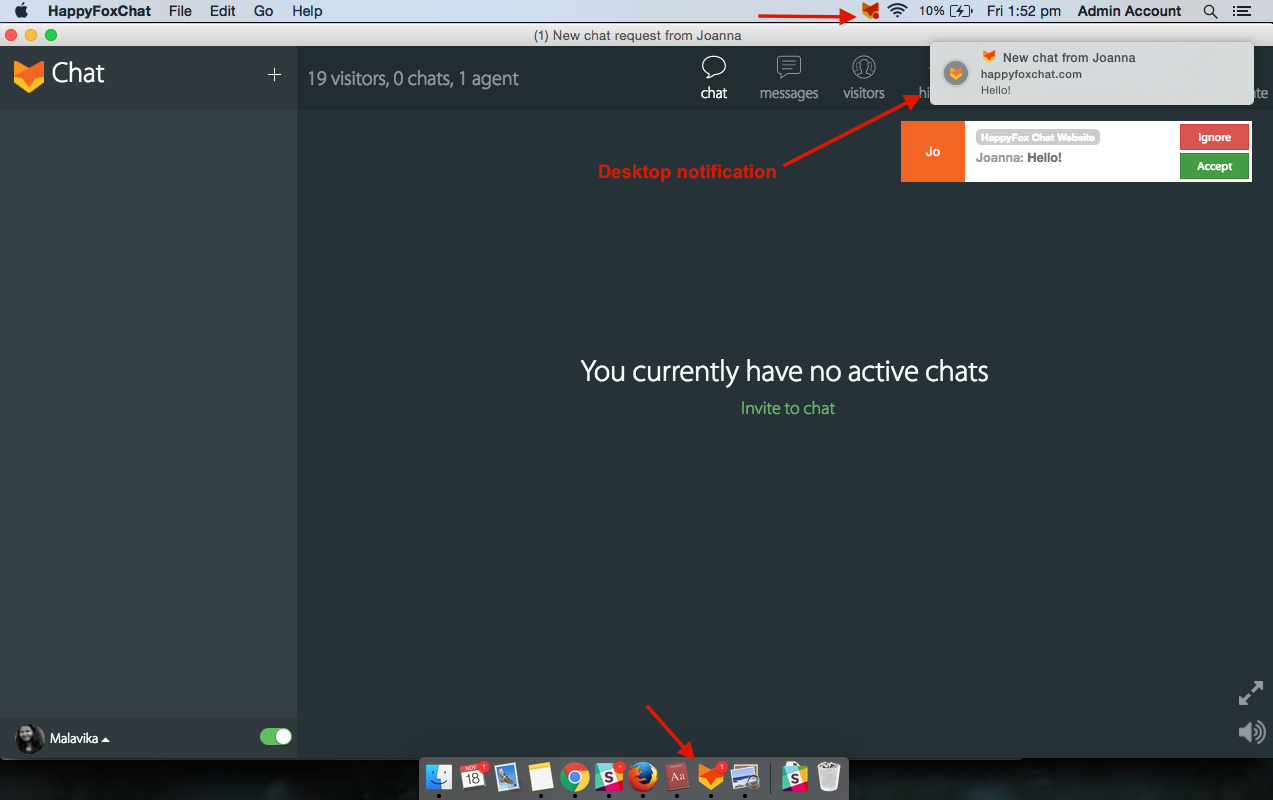 HappyFox Chat Desktop app - HappyFox Chat