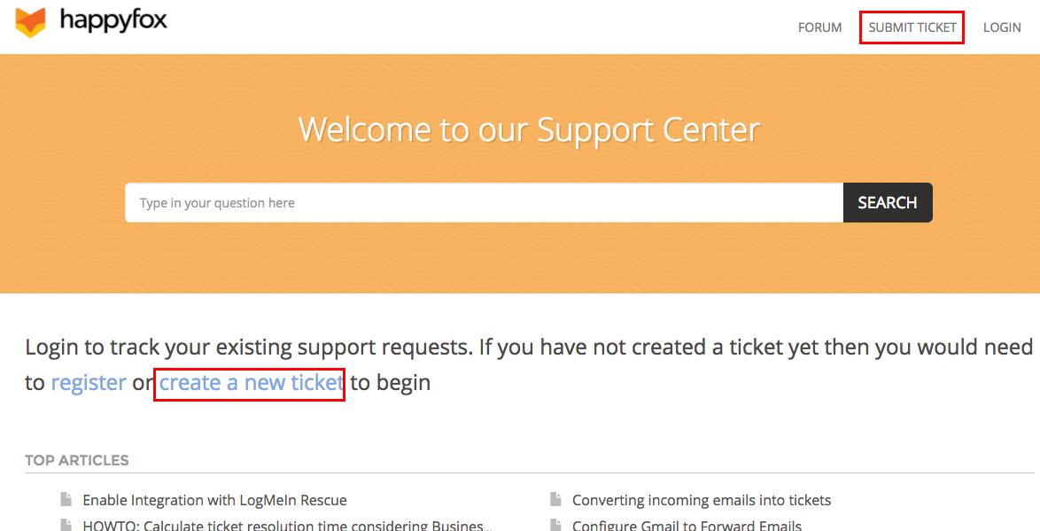 create tickets online