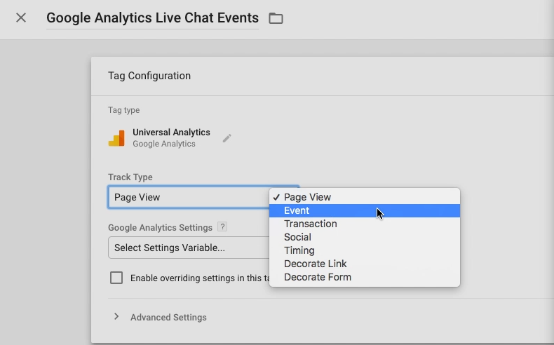 How to track events on Google Analytics via Google Tag Manager