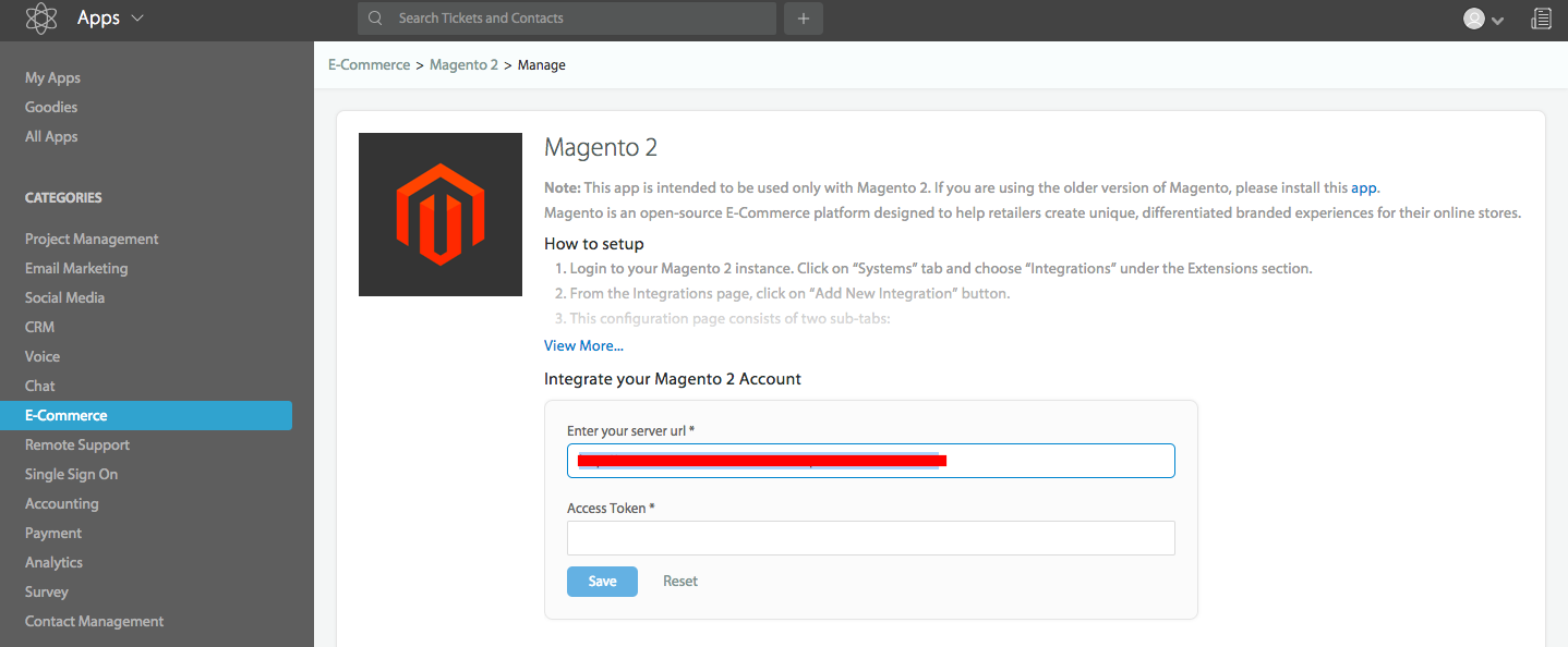 Configure Magento 2 Integration With HappyFox - HappyFox Support