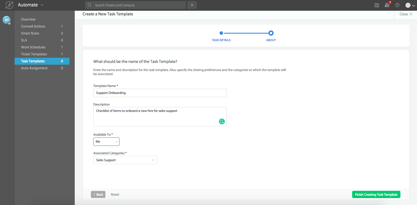 creating using task templates happyfox support