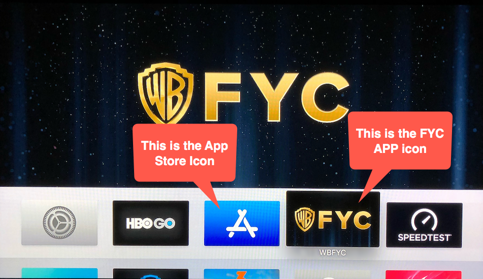 How do I download the WBFYC app on my Apple TV? - WBFYC