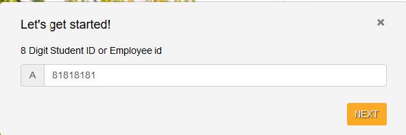 input ID number